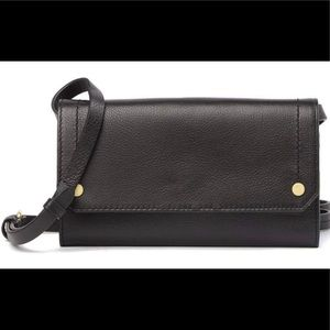 COLE HAAN Harlow Black Leather Crossbody, NWT